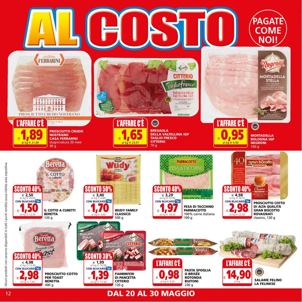 Volantino Il Gigante - Offerte 20/05-30/05/2021 (Pagina 12)