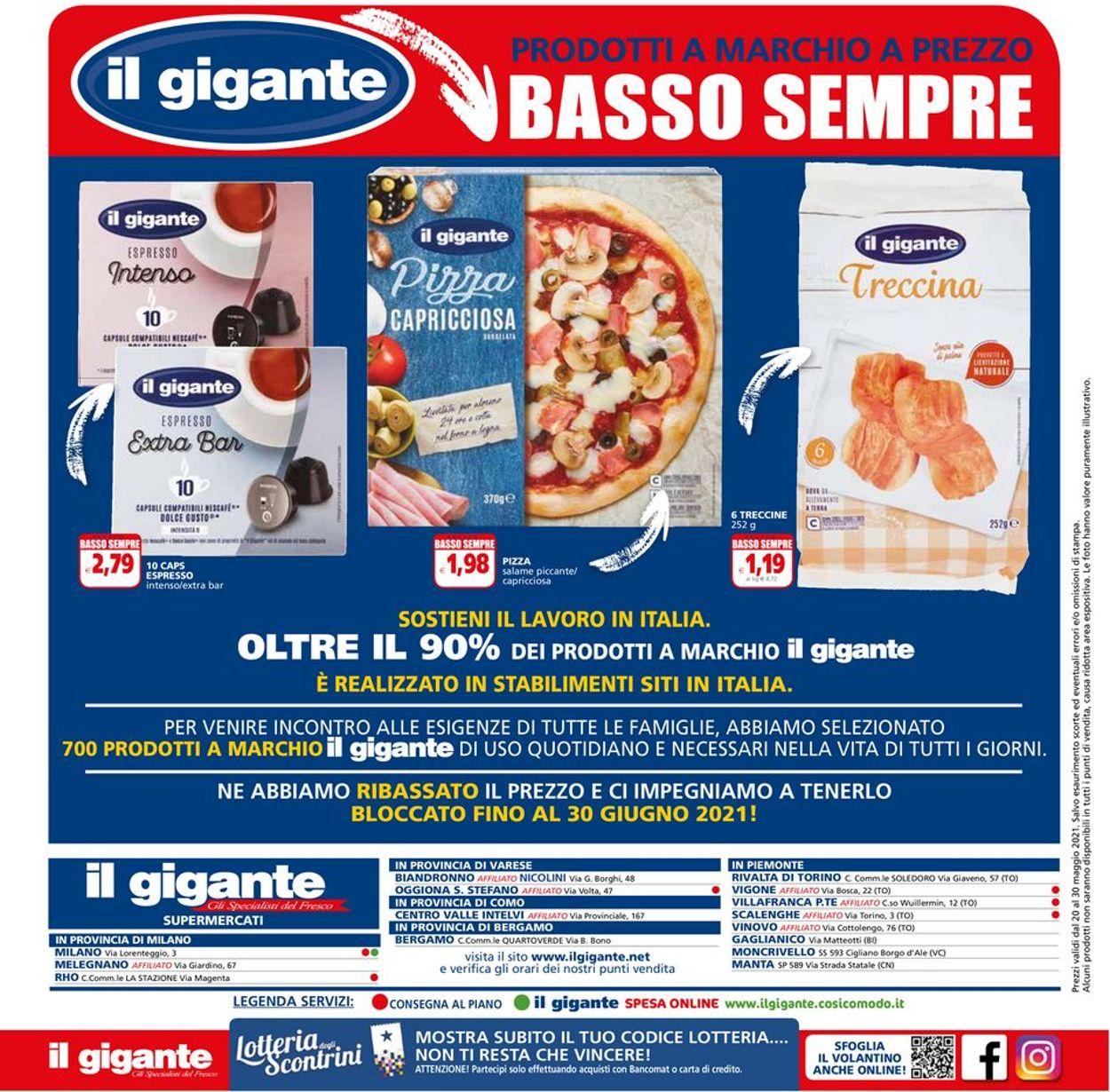 Volantino Il Gigante - Offerte 20/05-30/05/2021 (Pagina 16)