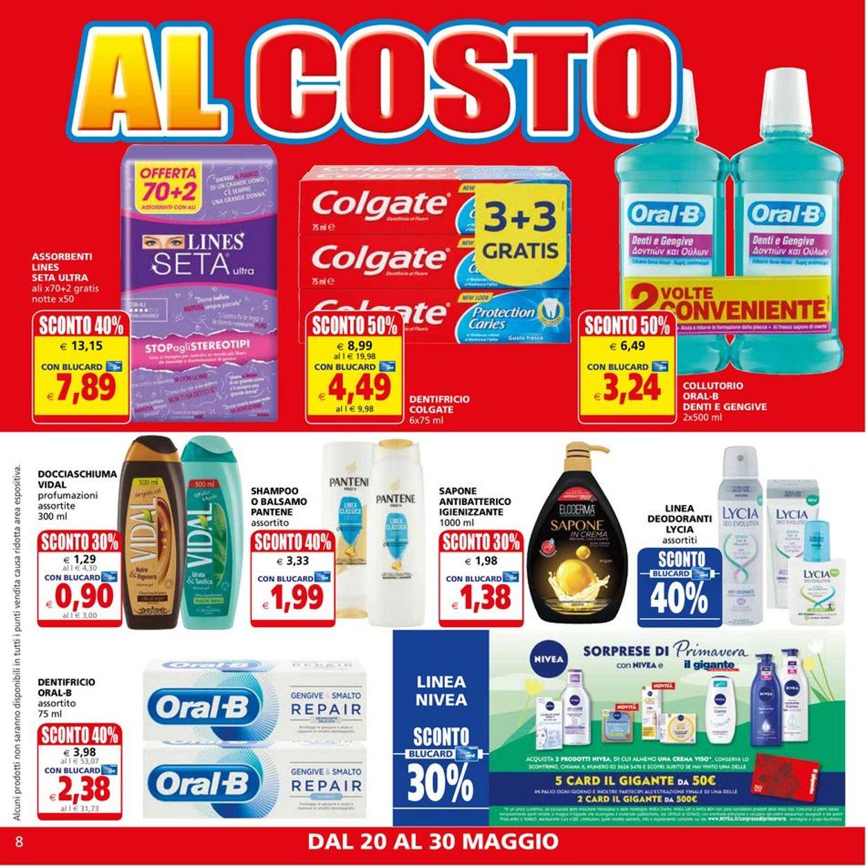 Volantino Il Gigante - Offerte 20/05-30/05/2021 (Pagina 8)