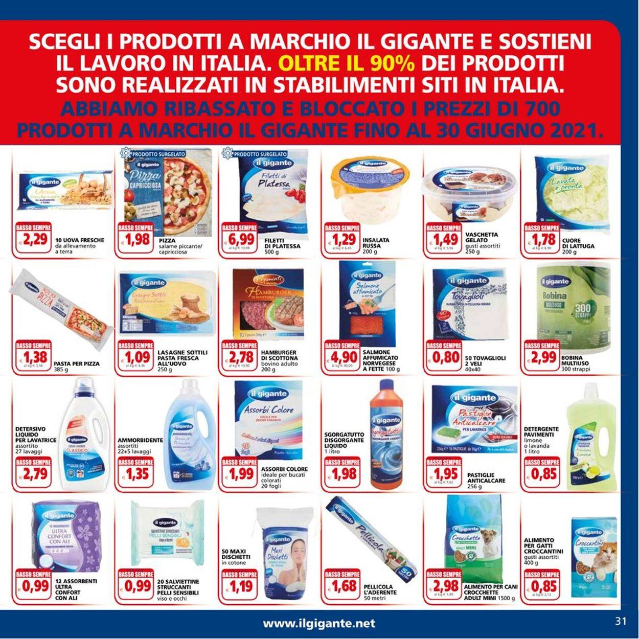 Volantino Il Gigante - Offerte 20/05-30/05/2021 (Pagina 31)