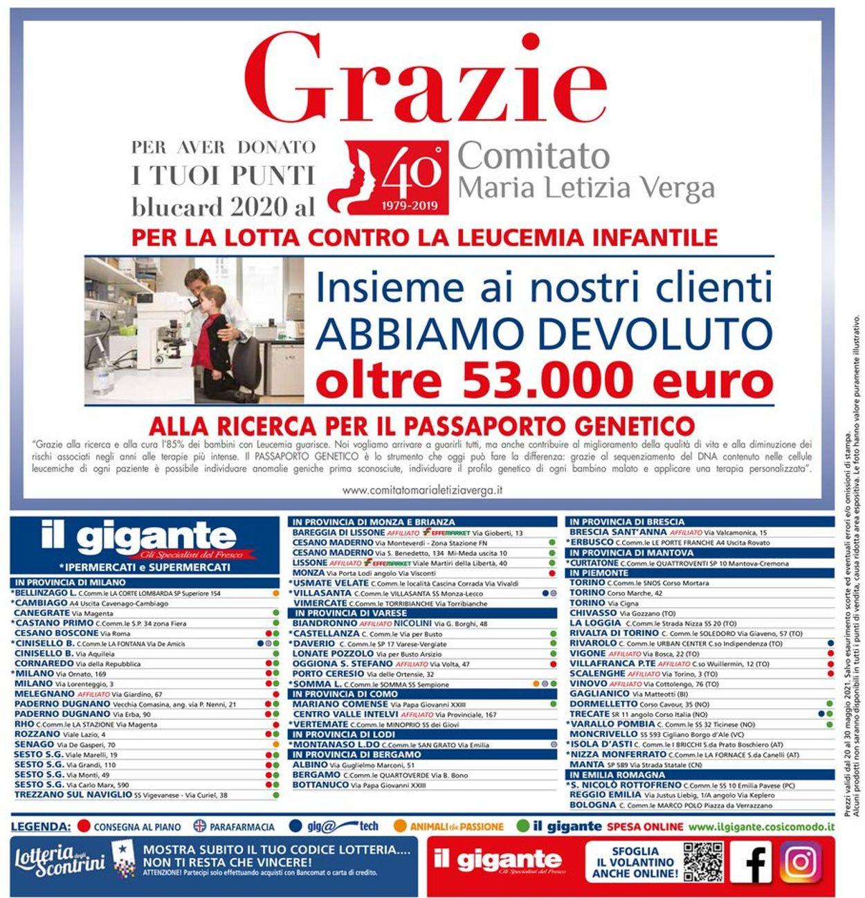 Volantino Il Gigante - Offerte 20/05-30/05/2021 (Pagina 32)