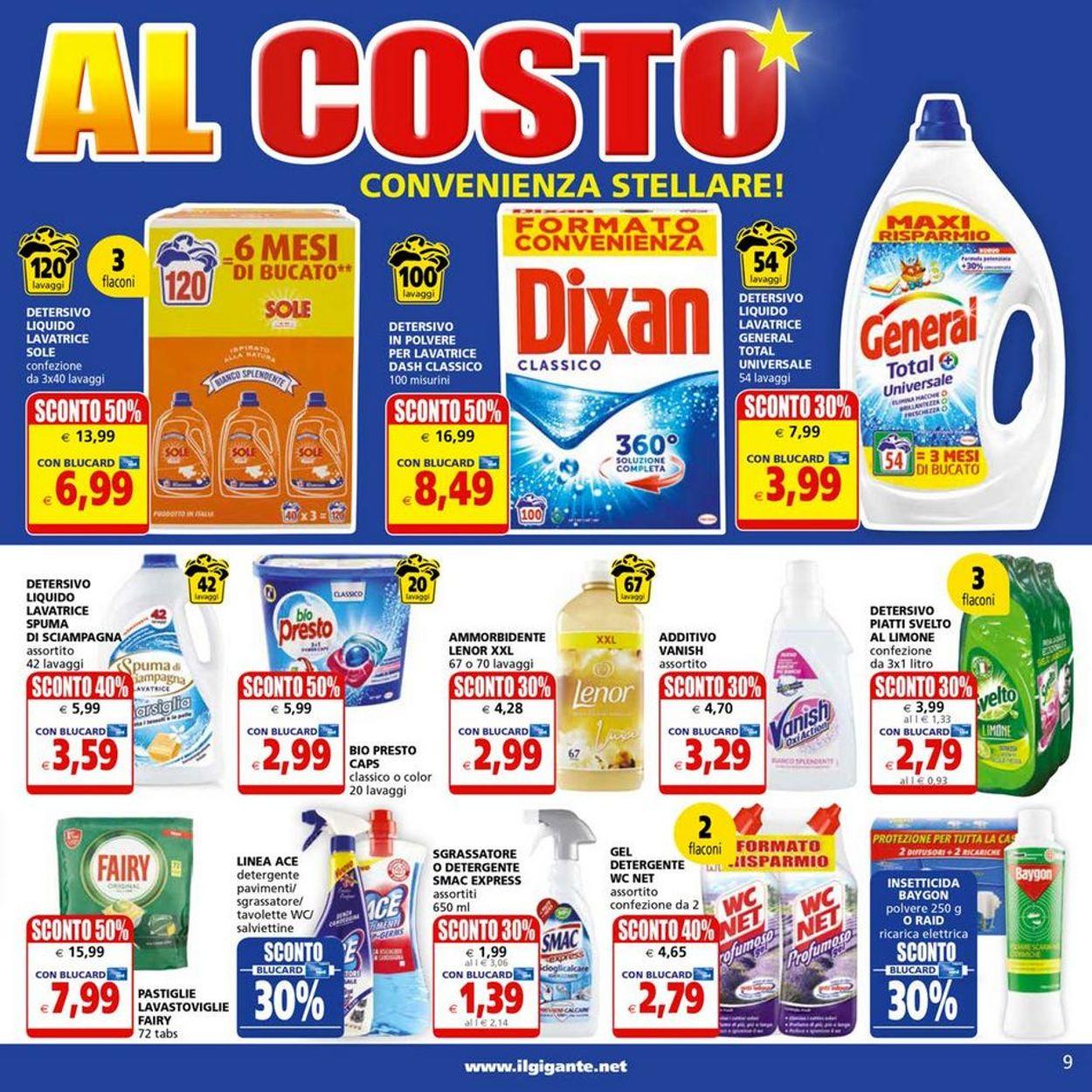 Volantino Il Gigante - Offerte 31/05-13/06/2021 (Pagina 9)