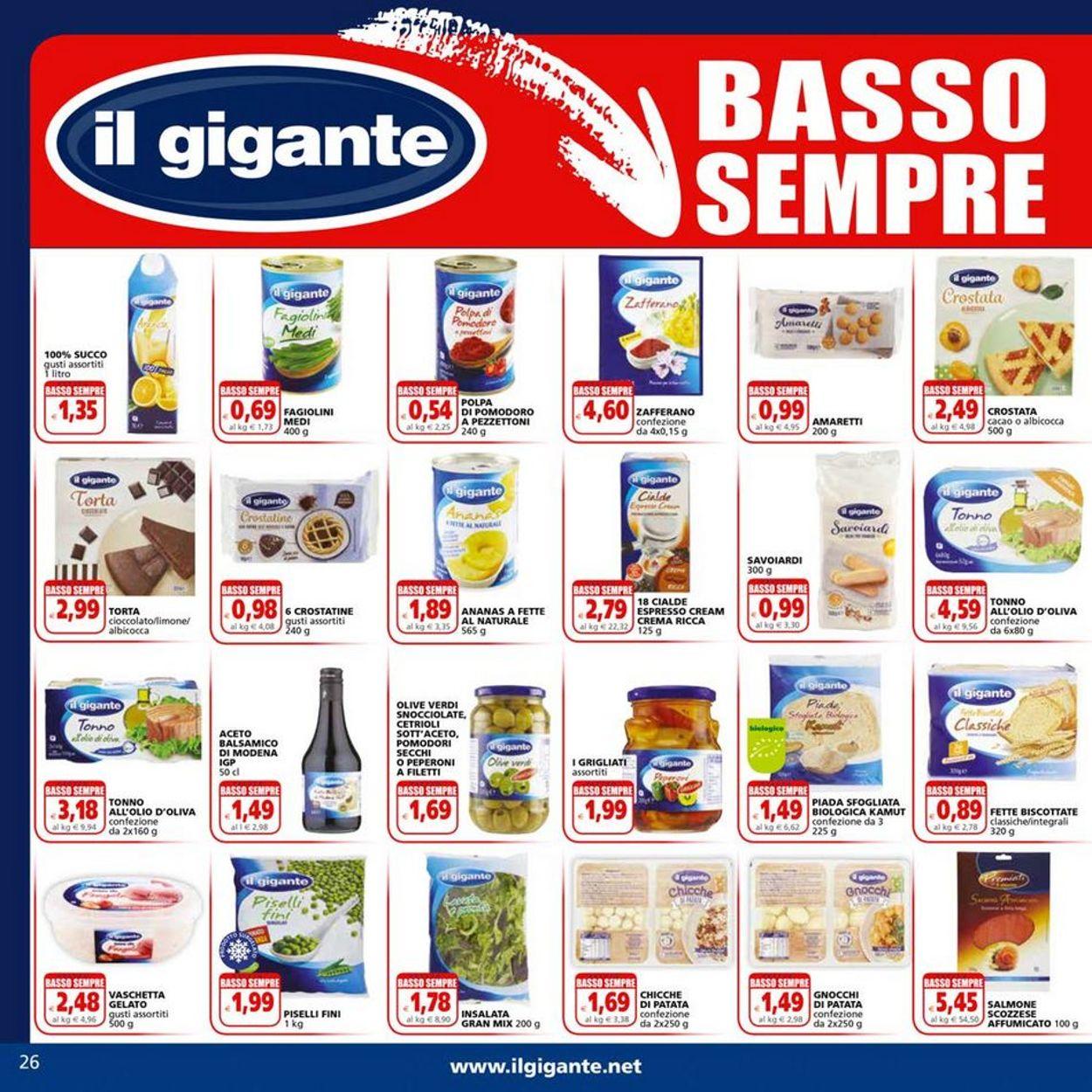 Volantino Il Gigante - Offerte 31/05-13/06/2021 (Pagina 26)