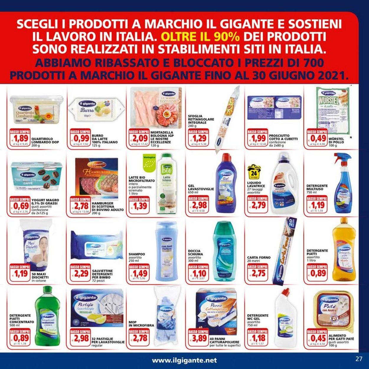 Volantino Il Gigante - Offerte 31/05-13/06/2021 (Pagina 27)