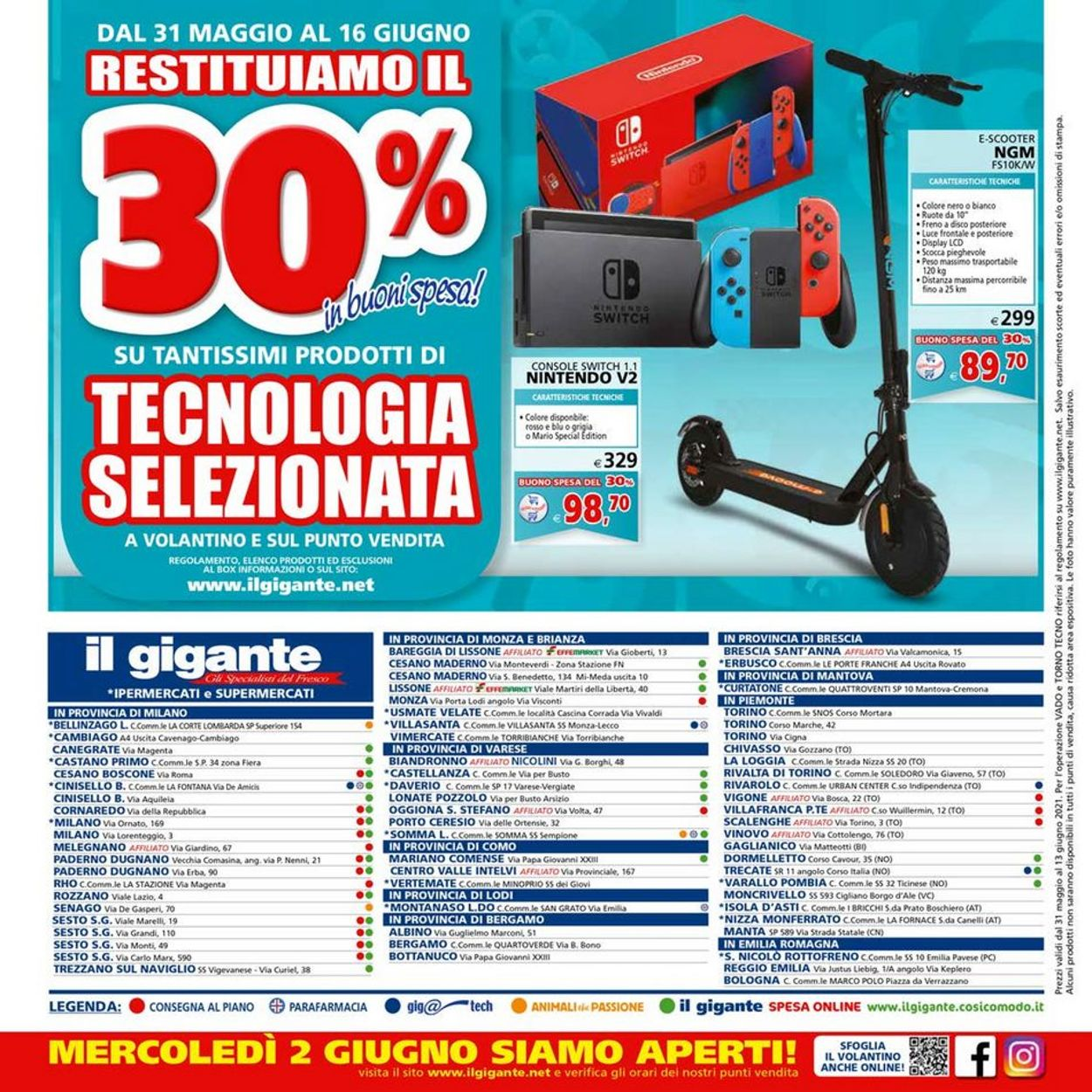Volantino Il Gigante - Offerte 31/05-13/06/2021 (Pagina 28)
