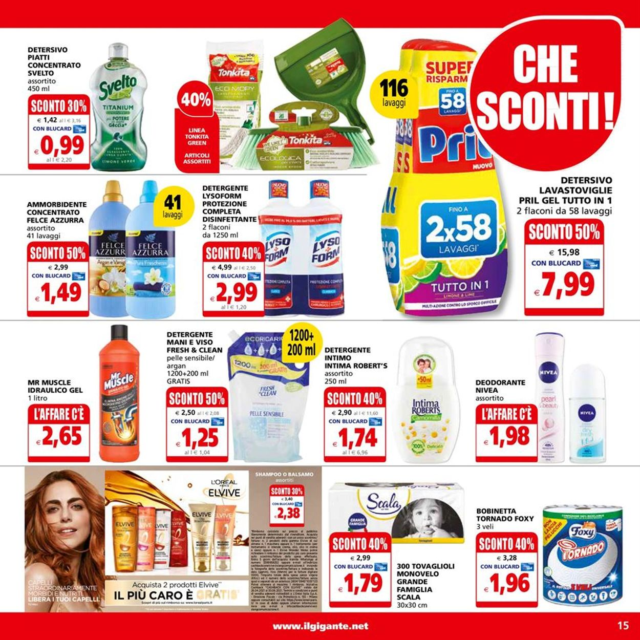 Volantino Il Gigante - Offerte 14/06-23/06/2021 (Pagina 15)