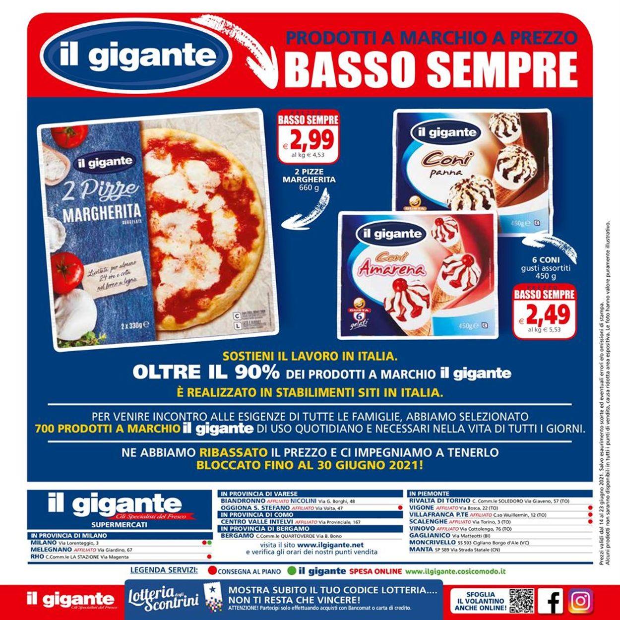 Volantino Il Gigante - Offerte 14/06-23/06/2021 (Pagina 16)
