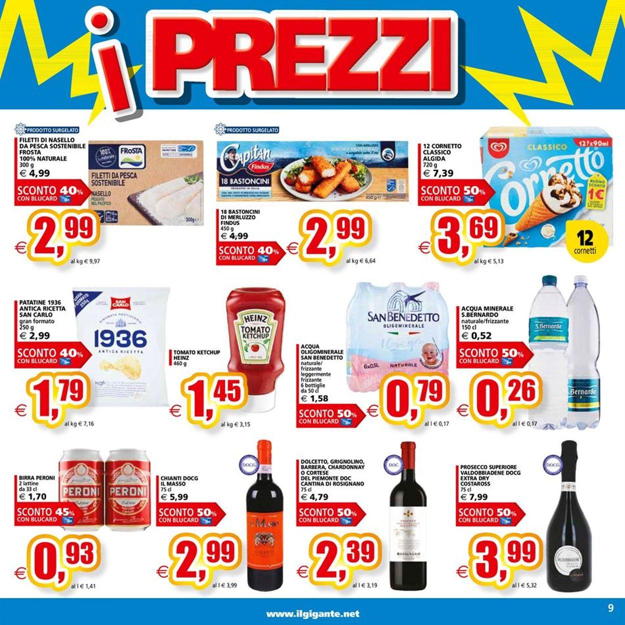 Volantino Il Gigante - Offerte 14/06-23/06/2021 (Pagina 9)