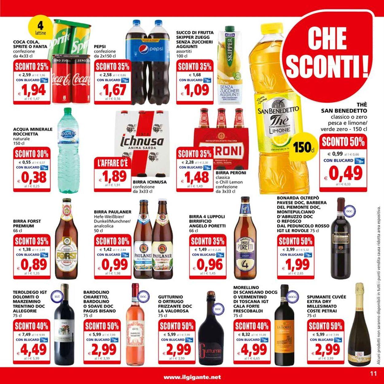 Volantino Il Gigante - Offerte 14/06-23/06/2021 (Pagina 11)