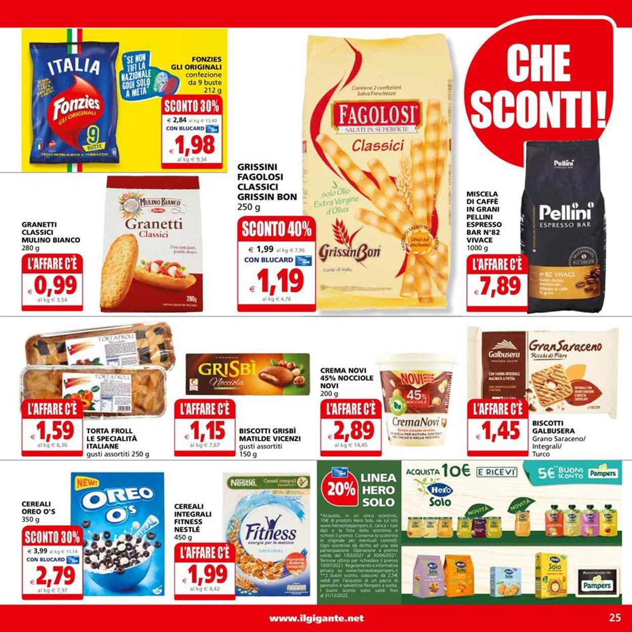 Volantino Il Gigante - Offerte 14/06-23/06/2021 (Pagina 25)