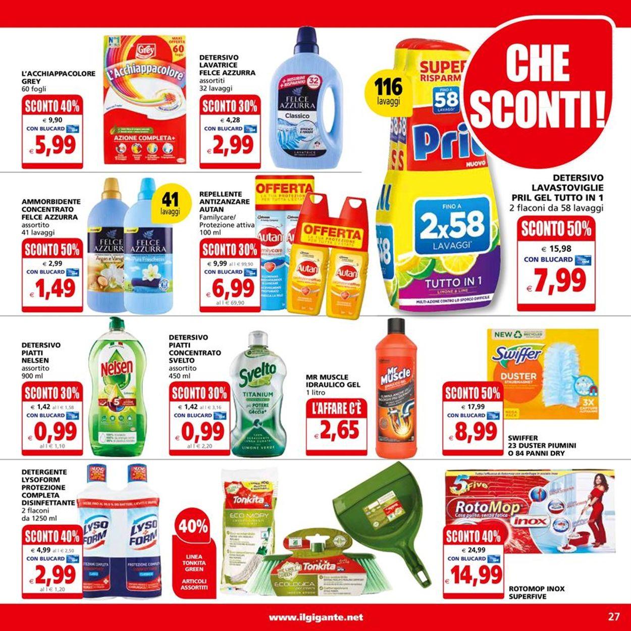 Volantino Il Gigante - Offerte 14/06-23/06/2021 (Pagina 27)