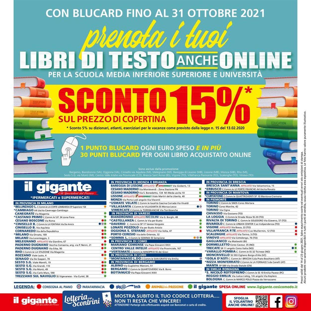 Volantino Il Gigante - Offerte 14/06-23/06/2021 (Pagina 28)