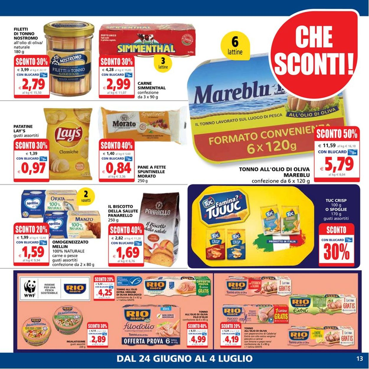 Volantino Il Gigante - Offerte 24/06-04/07/2021 (Pagina 13)