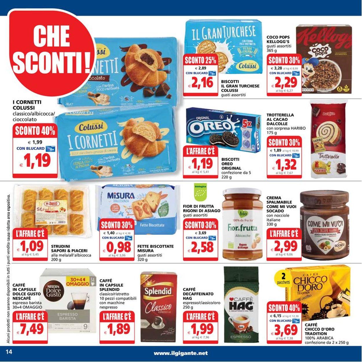 Volantino Il Gigante - Offerte 24/06-04/07/2021 (Pagina 14)