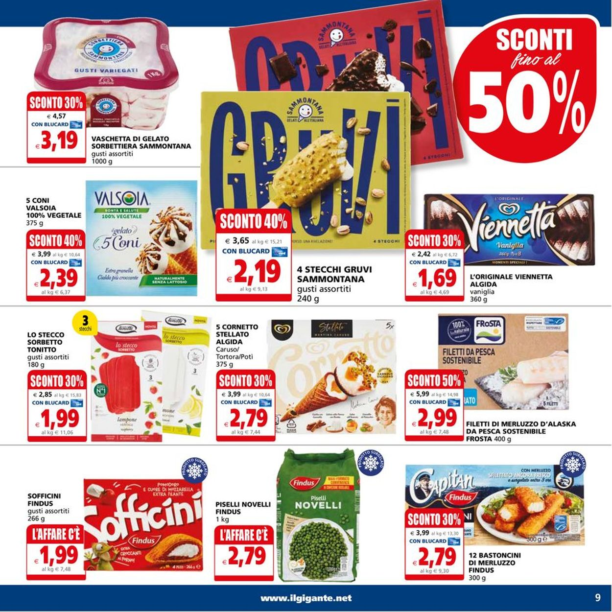 Volantino Il Gigante - Offerte 05/07-14/07/2021 (Pagina 9)