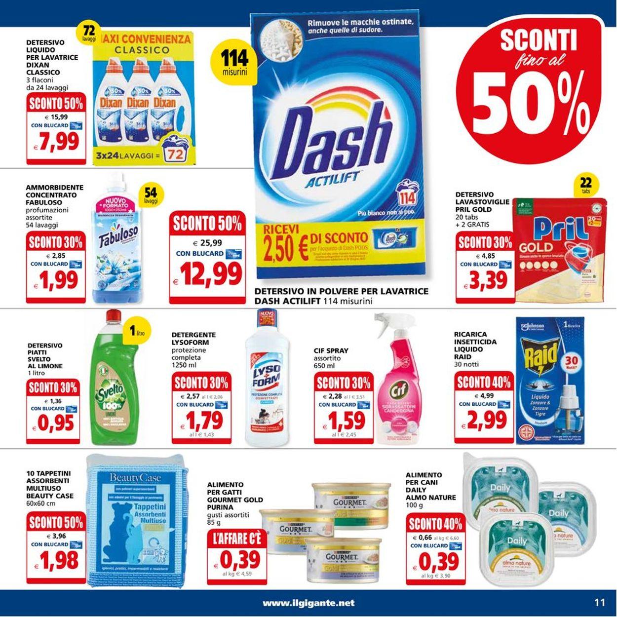 Volantino Il Gigante - Offerte 05/07-14/07/2021 (Pagina 11)