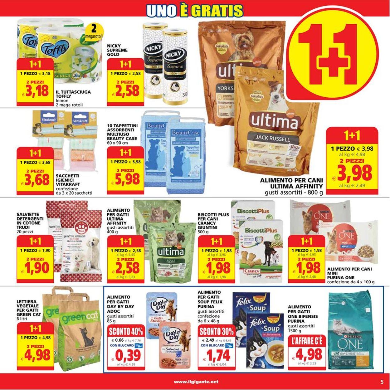 Volantino Il Gigante - Offerte 15/07-25/07/2021 (Pagina 5)
