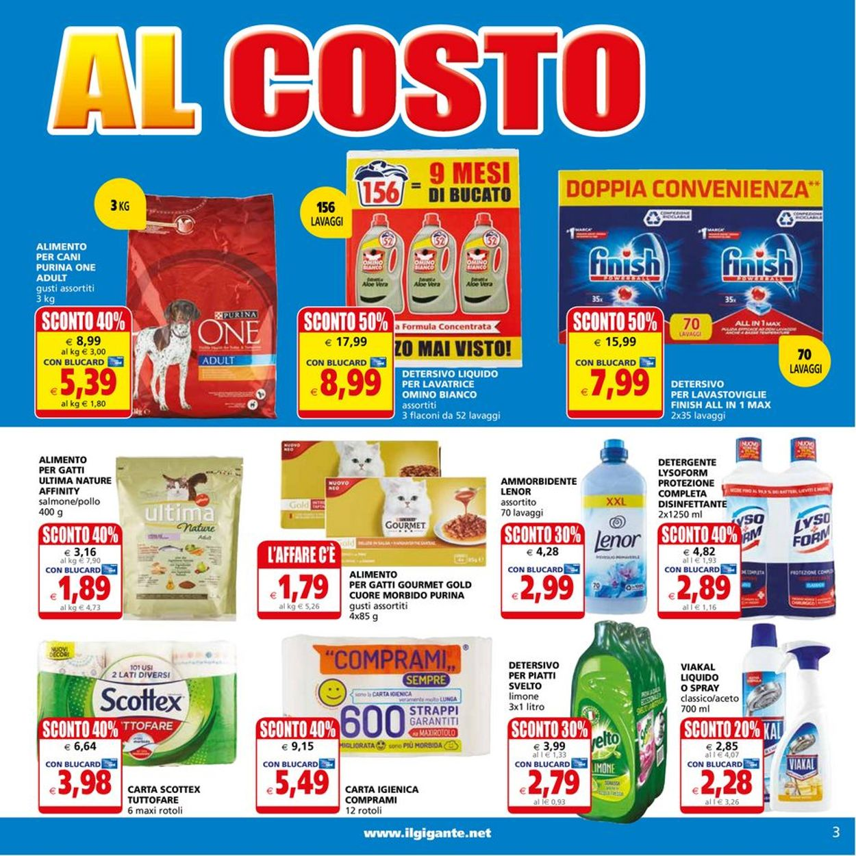 Volantino Il Gigante - Offerte 26/07-04/08/2021 (Pagina 3)