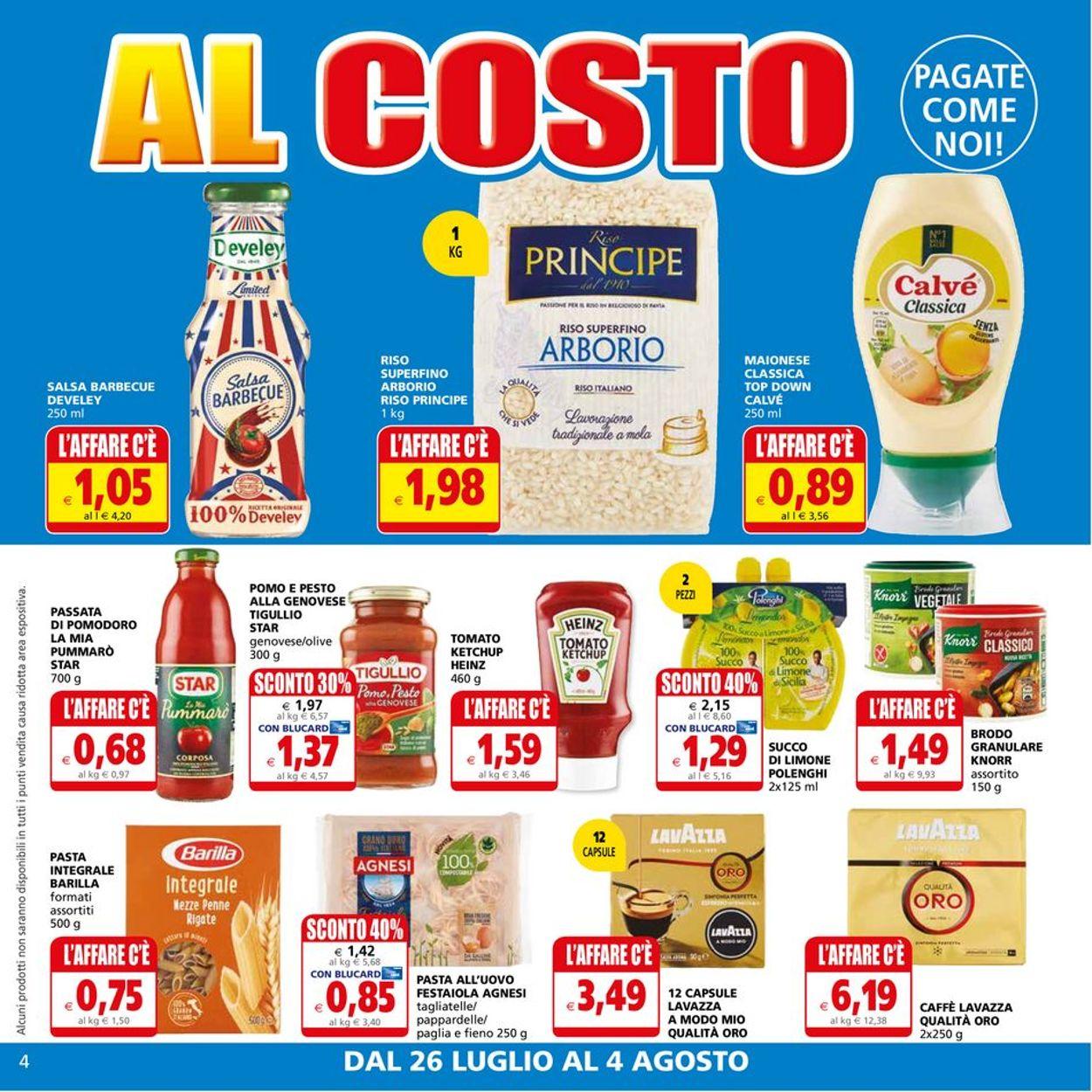 Volantino Il Gigante - Offerte 26/07-04/08/2021 (Pagina 4)