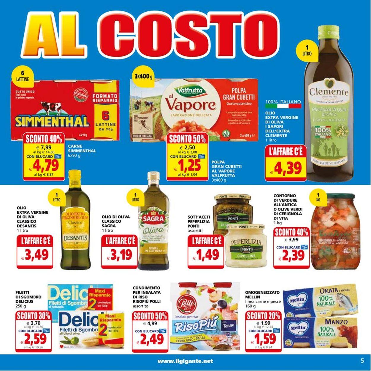 Volantino Il Gigante - Offerte 26/07-04/08/2021 (Pagina 5)