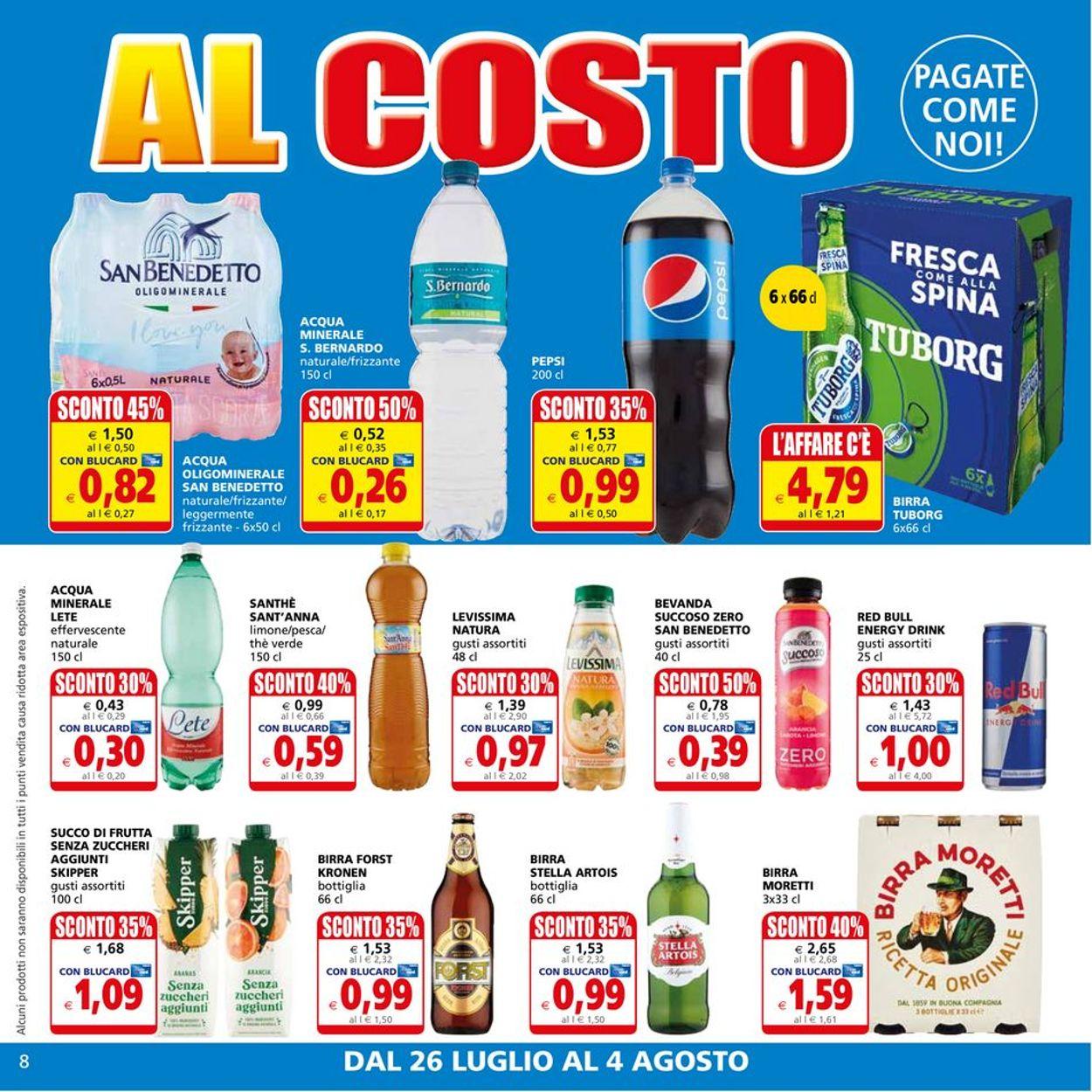 Volantino Il Gigante - Offerte 26/07-04/08/2021 (Pagina 8)