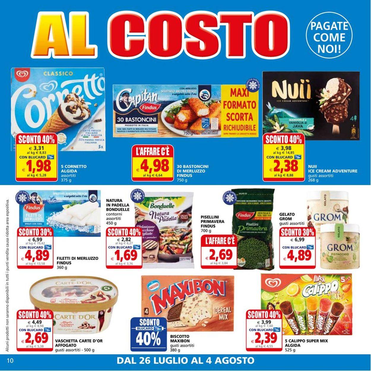Volantino Il Gigante - Offerte 26/07-04/08/2021 (Pagina 10)