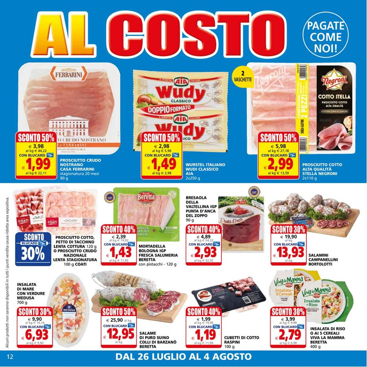 Volantino Il Gigante - Offerte 26/07-04/08/2021 (Pagina 12)