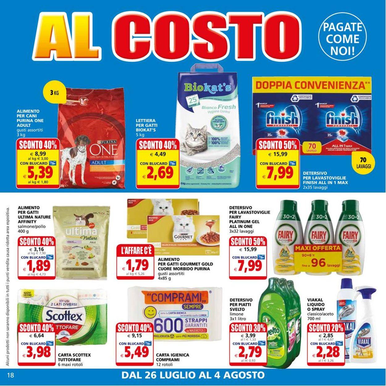 Volantino Il Gigante - Offerte 26/07-04/08/2021 (Pagina 18)
