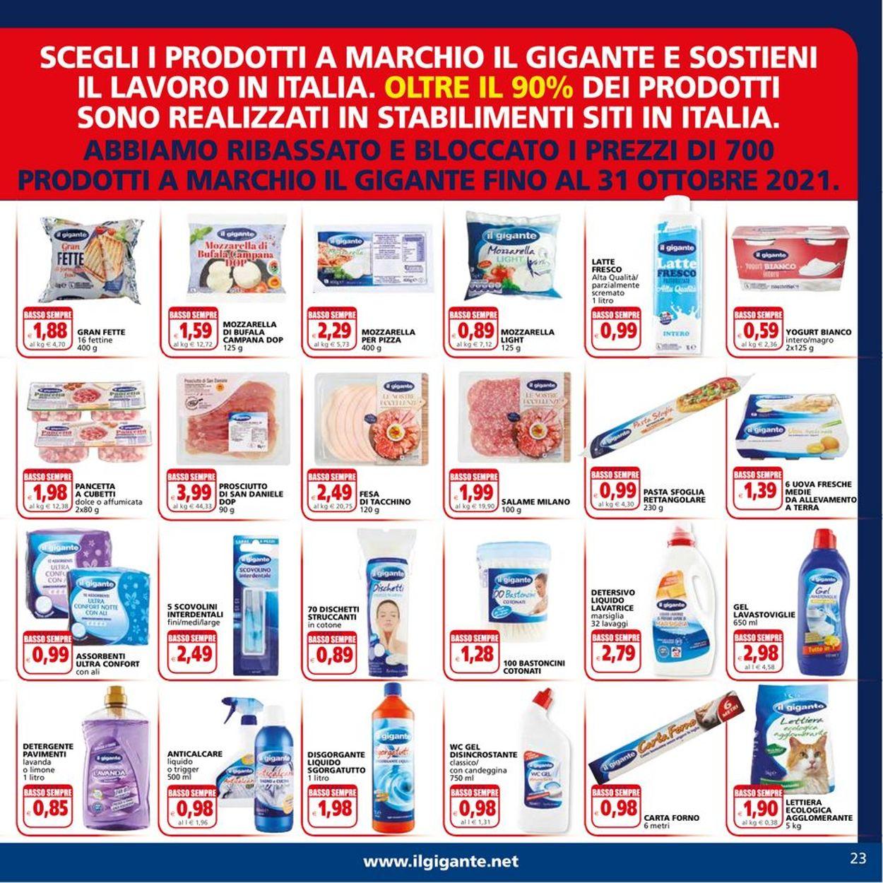 Volantino Il Gigante - Offerte 26/07-04/08/2021 (Pagina 23)