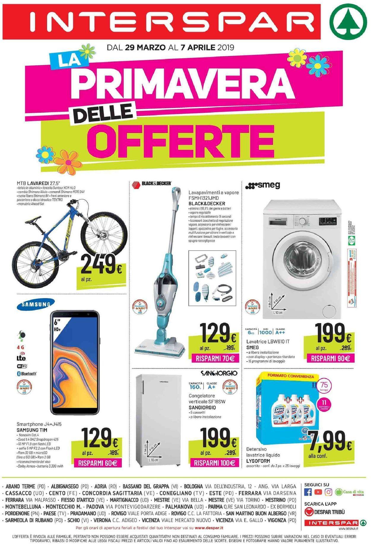 Volantino Interspar - Offerte 29/04-07/05/2019 (Pagina 4)