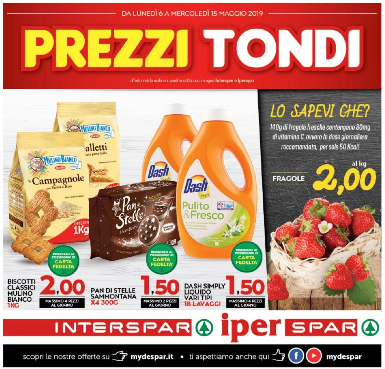 Volantino Interspar - Offerte 06/05-15/05/2019