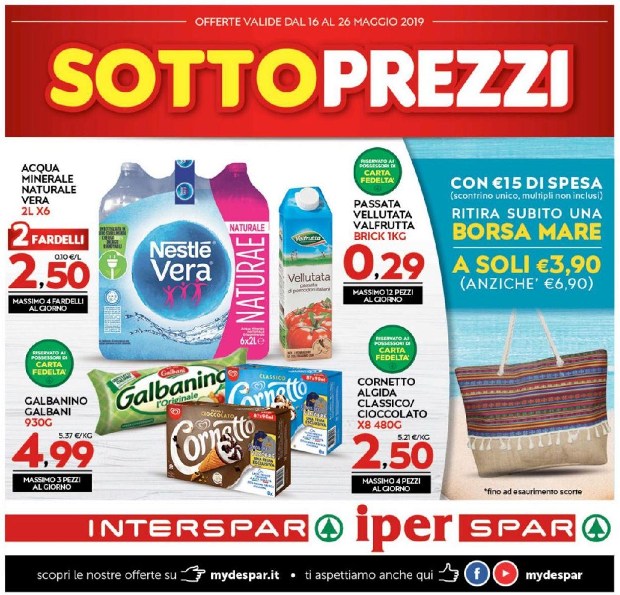 Volantino Interspar - Offerte 16/05-26/05/2019