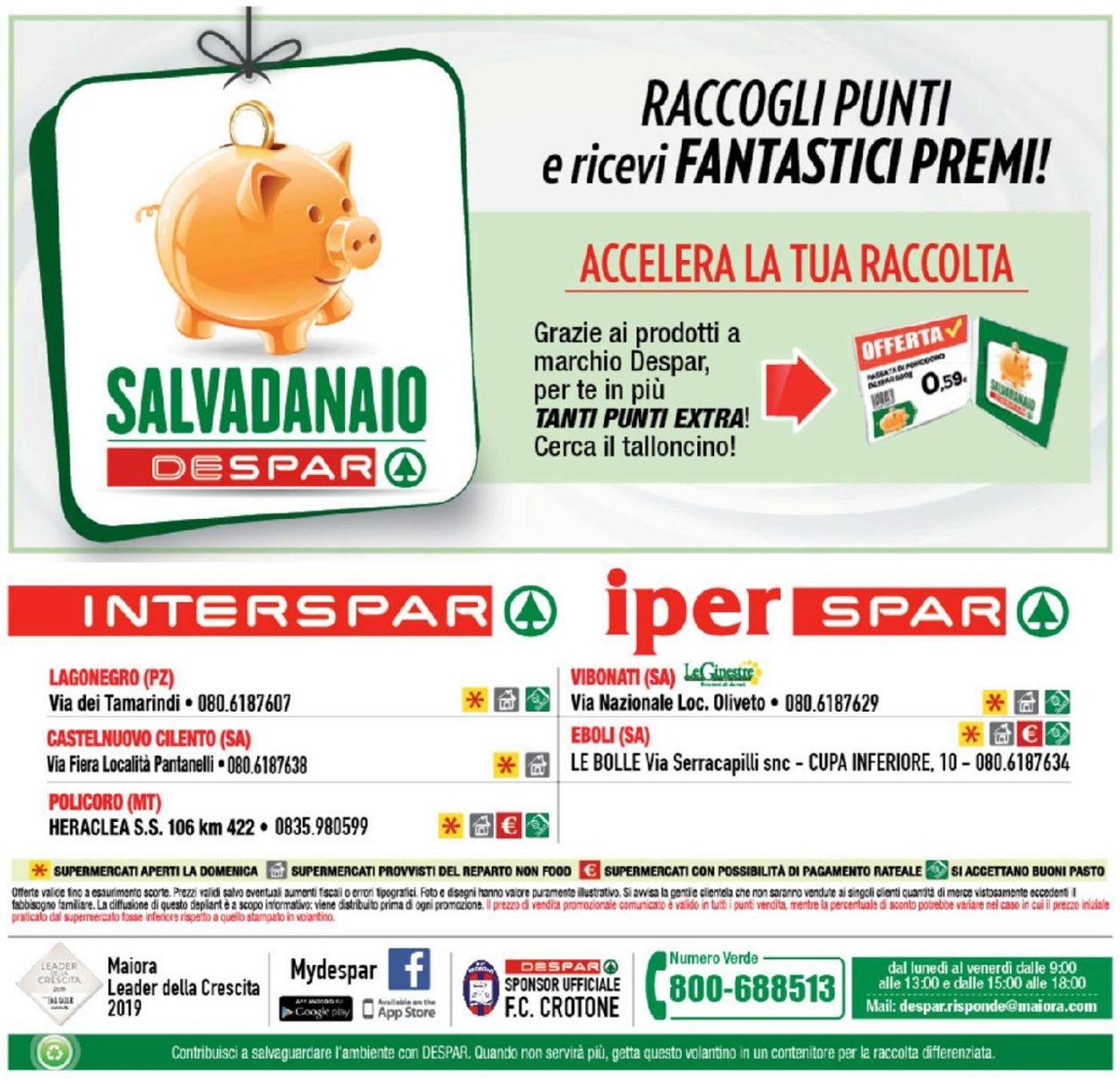 Volantino Interspar - Offerte 16/05-26/05/2019 (Pagina 32)