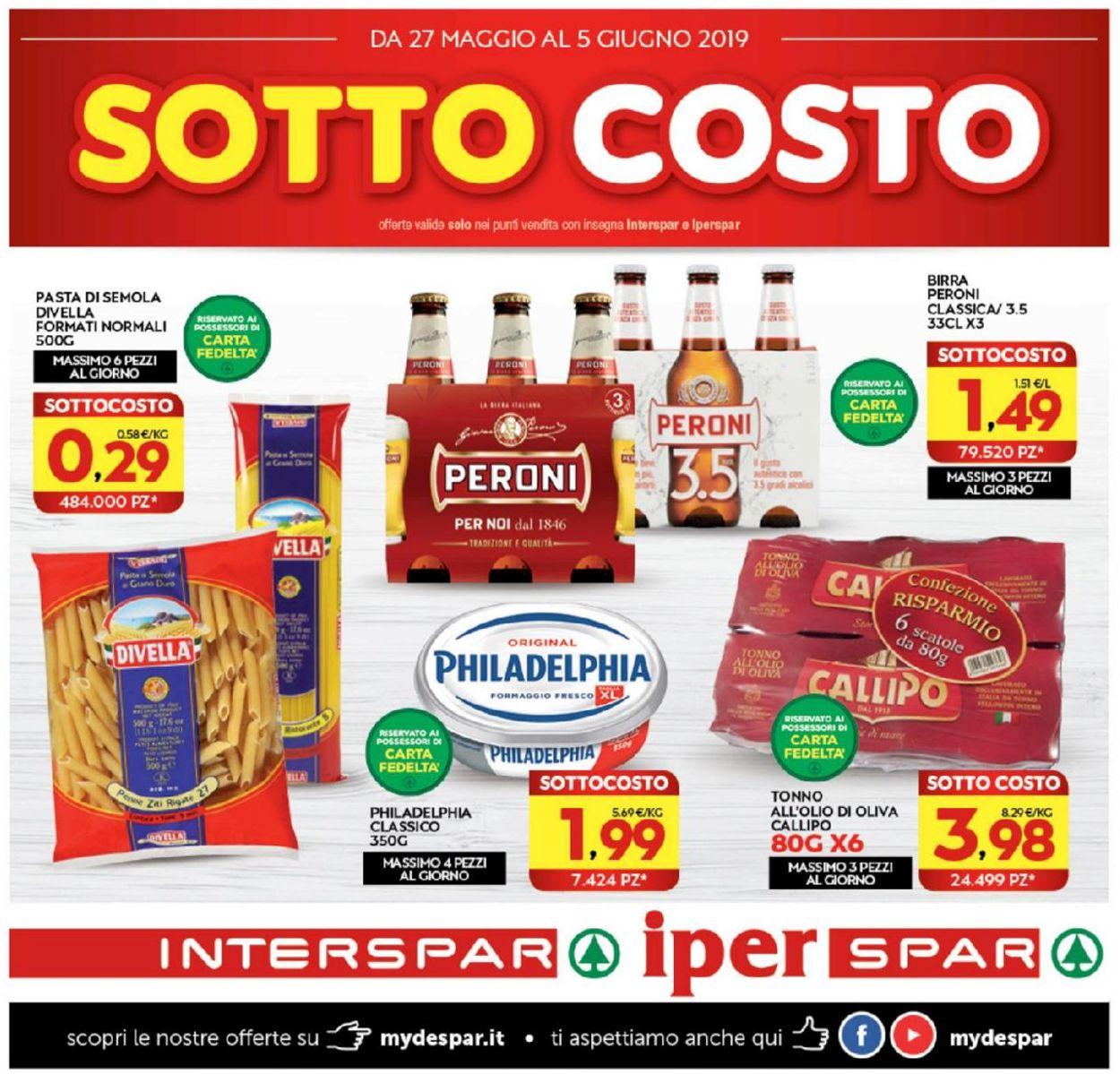 Volantino Interspar - Offerte 27/05-05/06/2019