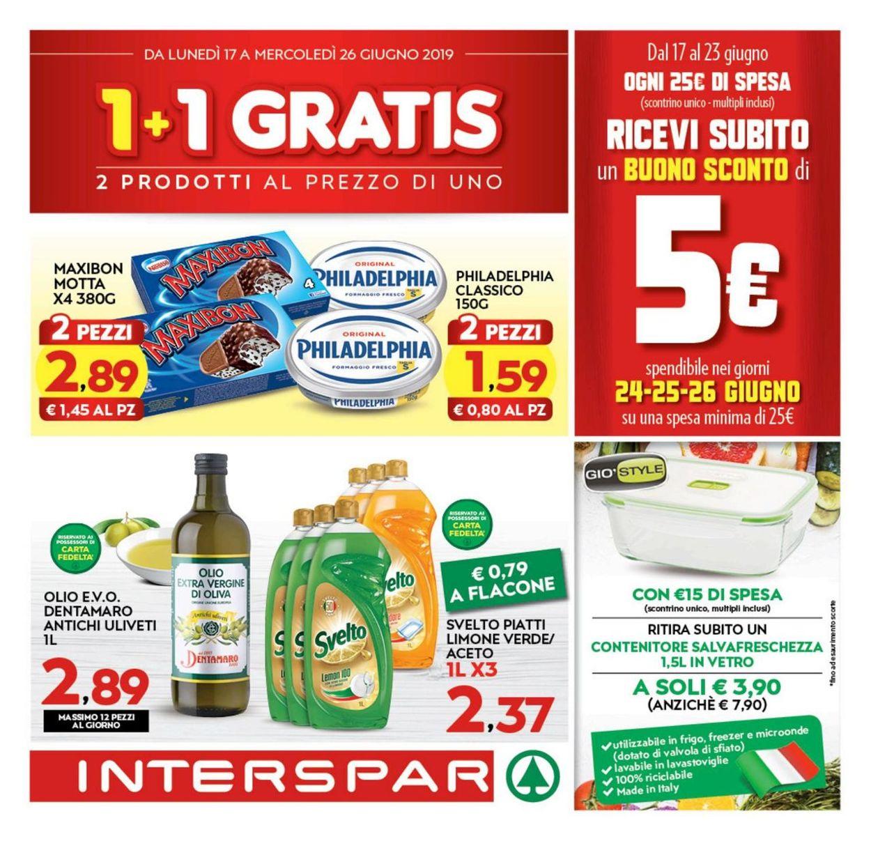 Volantino Interspar - Offerte 17/06-26/06/2019