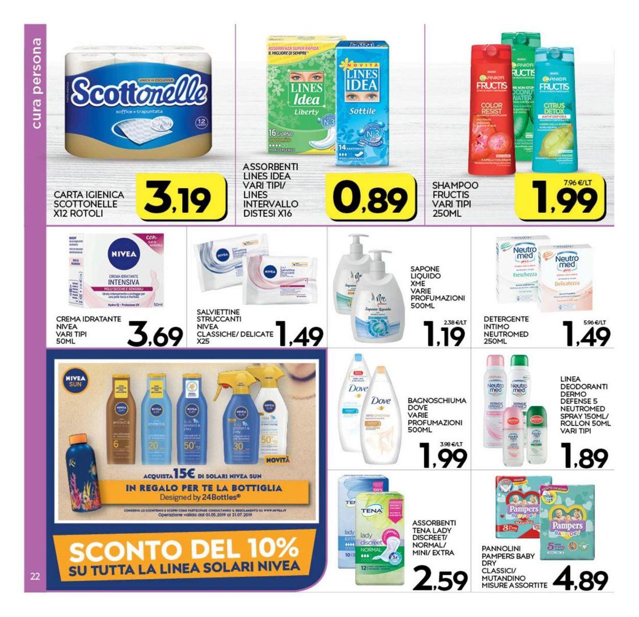 Volantino Interspar - Offerte 27/06-07/07/2019 (Pagina 22)