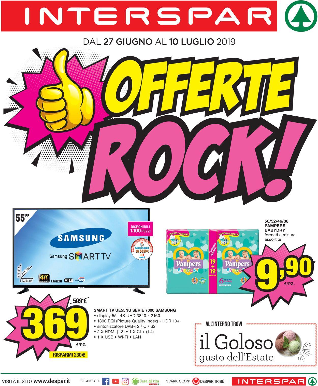 Volantino Interspar - Offerte 27/06-10/07/2019