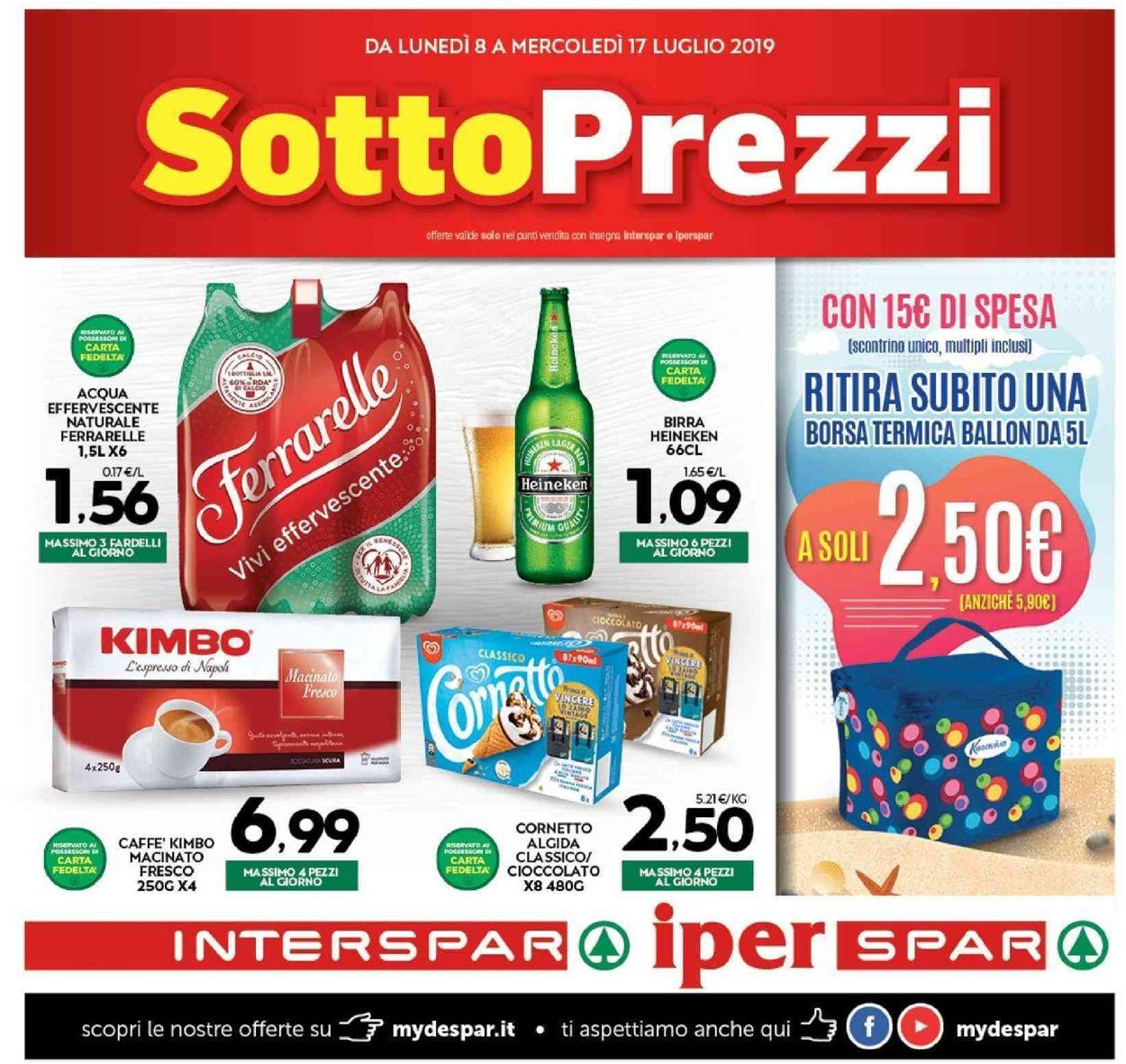 Volantino Interspar - Offerte 08/07-17/07/2019