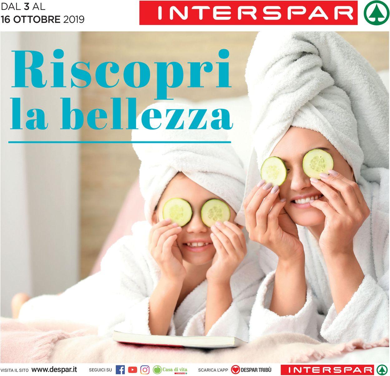 Volantino Interspar - Offerte 03/10-16/10/2019