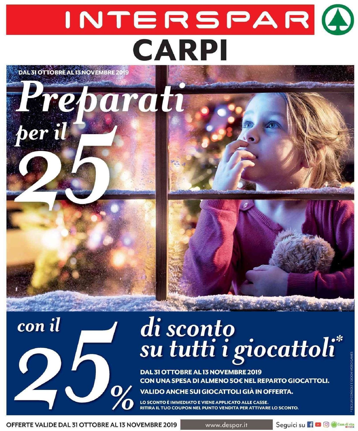 Volantino Interspar - Offerte 31/10-13/11/2019
