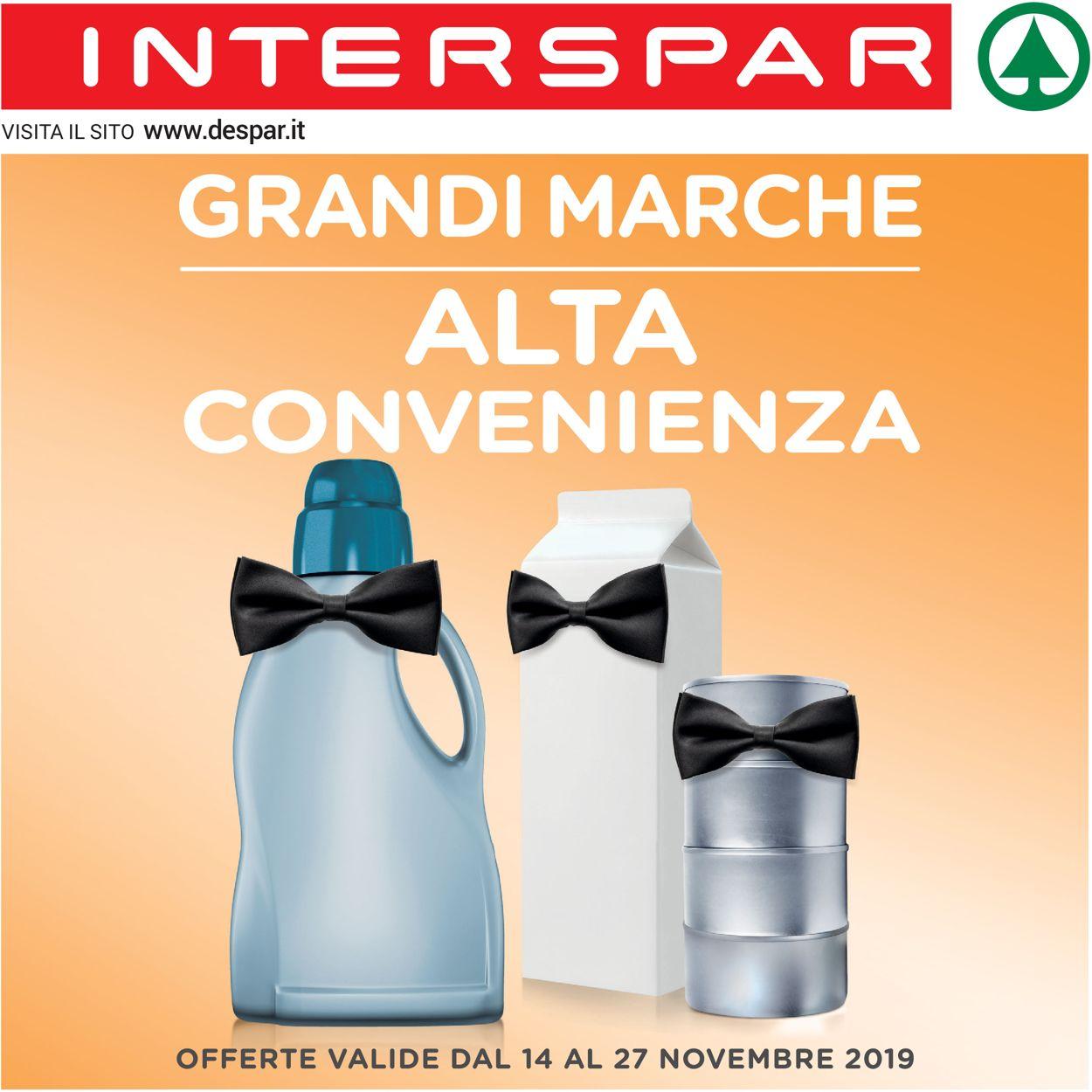 Volantino Interspar - Offerte 14/11-27/11/2019