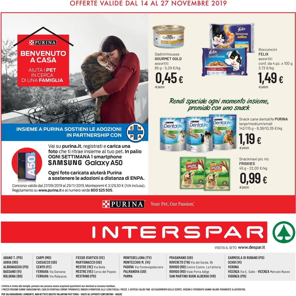 Volantino Interspar - Offerte 14/11-27/11/2019 (Pagina 12)