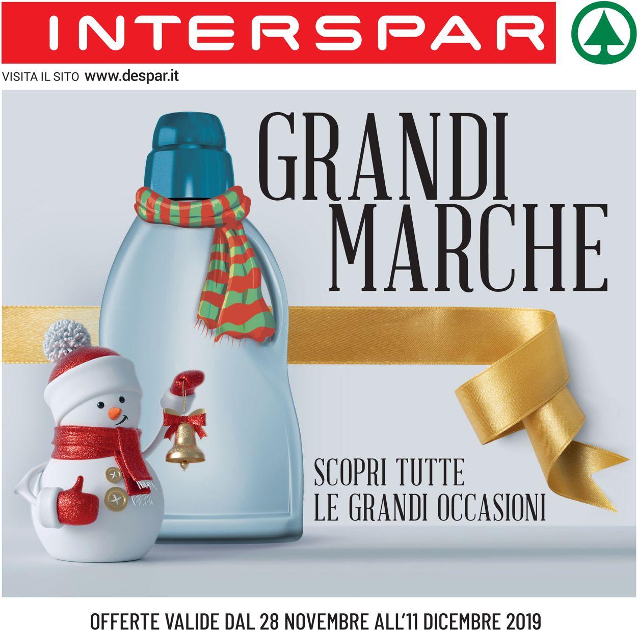 Volantino Interspar - Offerte 28/11-11/12/2019