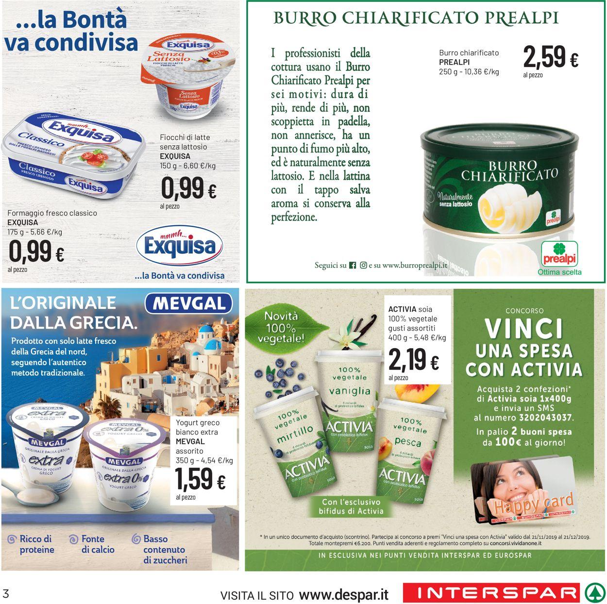 Volantino Interspar - Offerte 28/11-11/12/2019 (Pagina 3)