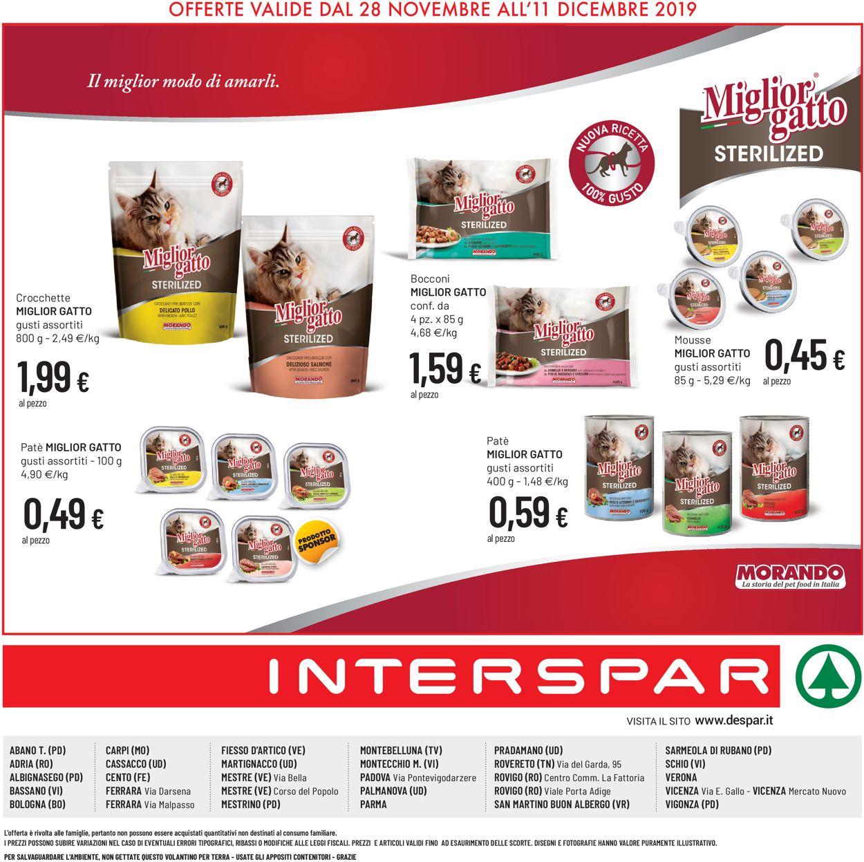 Volantino Interspar - Offerte 28/11-11/12/2019 (Pagina 16)