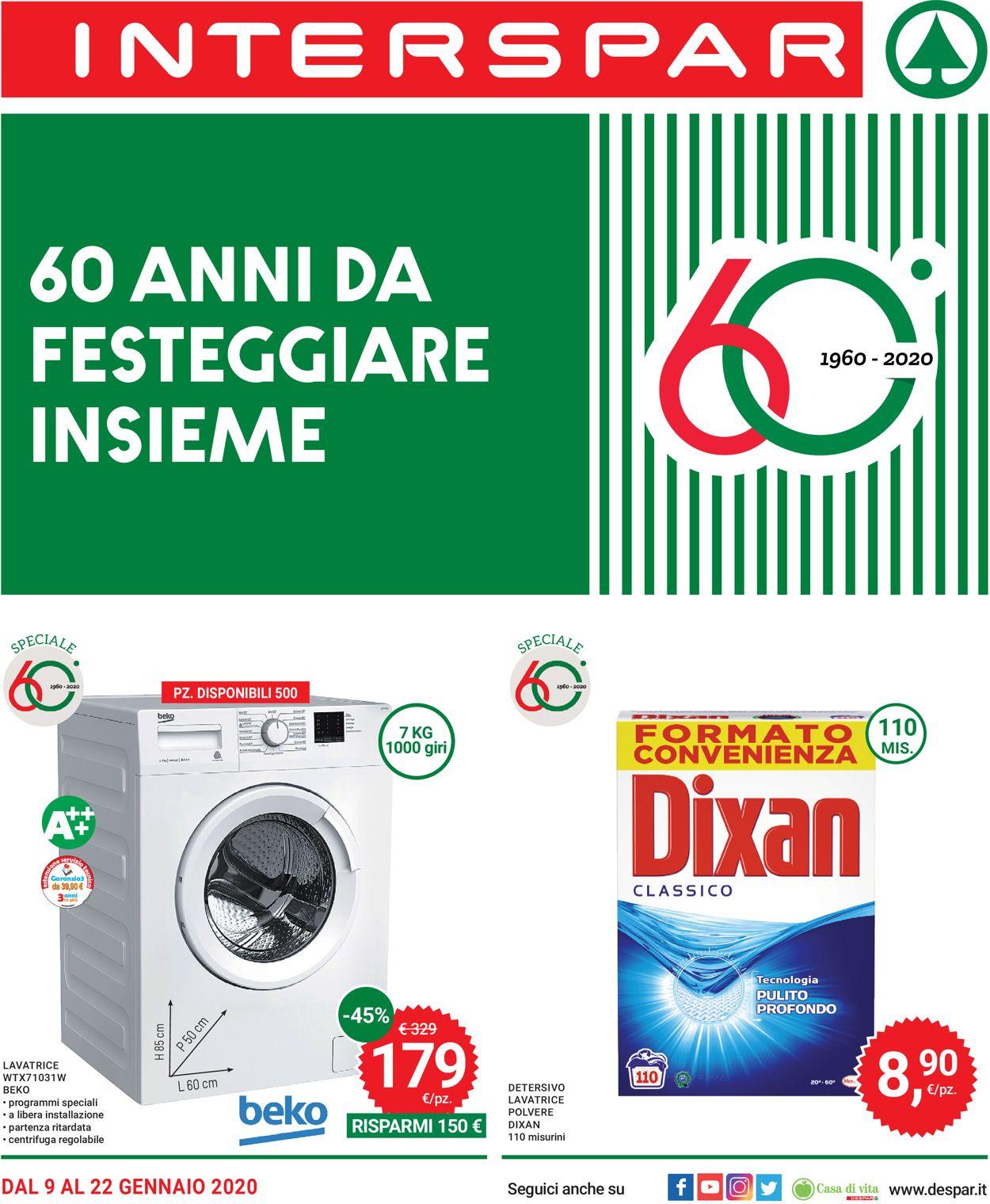 Volantino Interspar - Offerte 09/01-22/01/2020