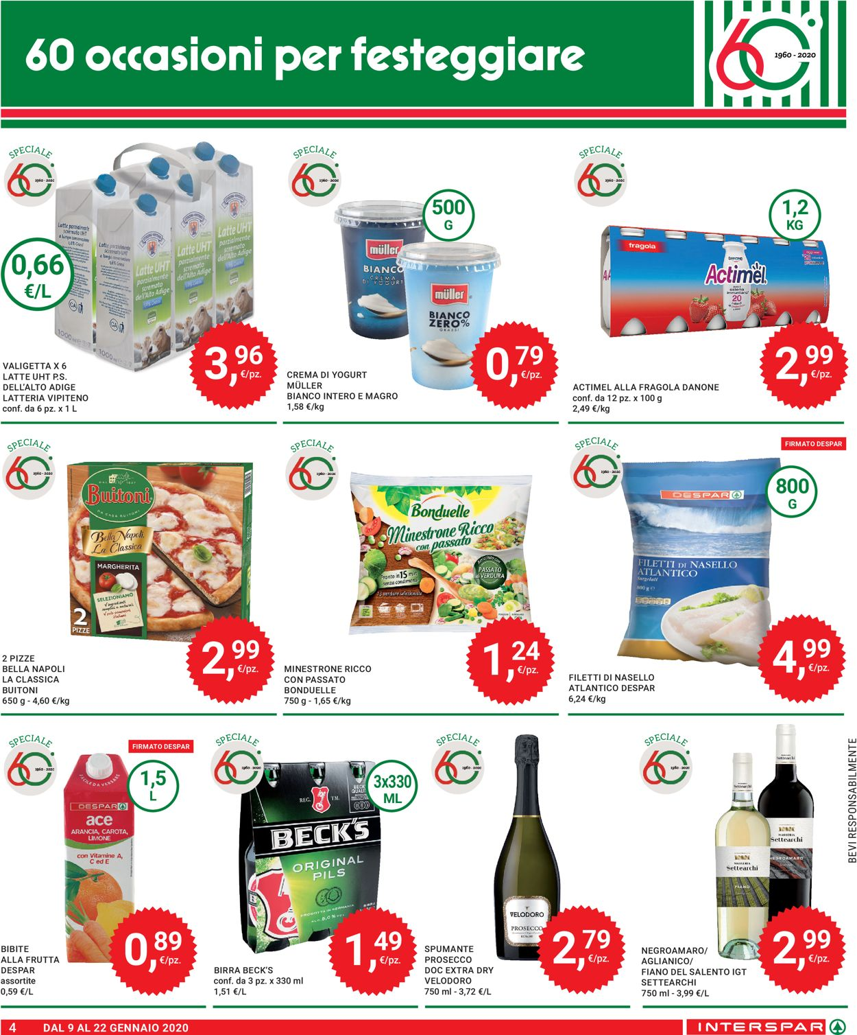 Volantino Interspar - Offerte 09/01-22/01/2020 (Pagina 4)