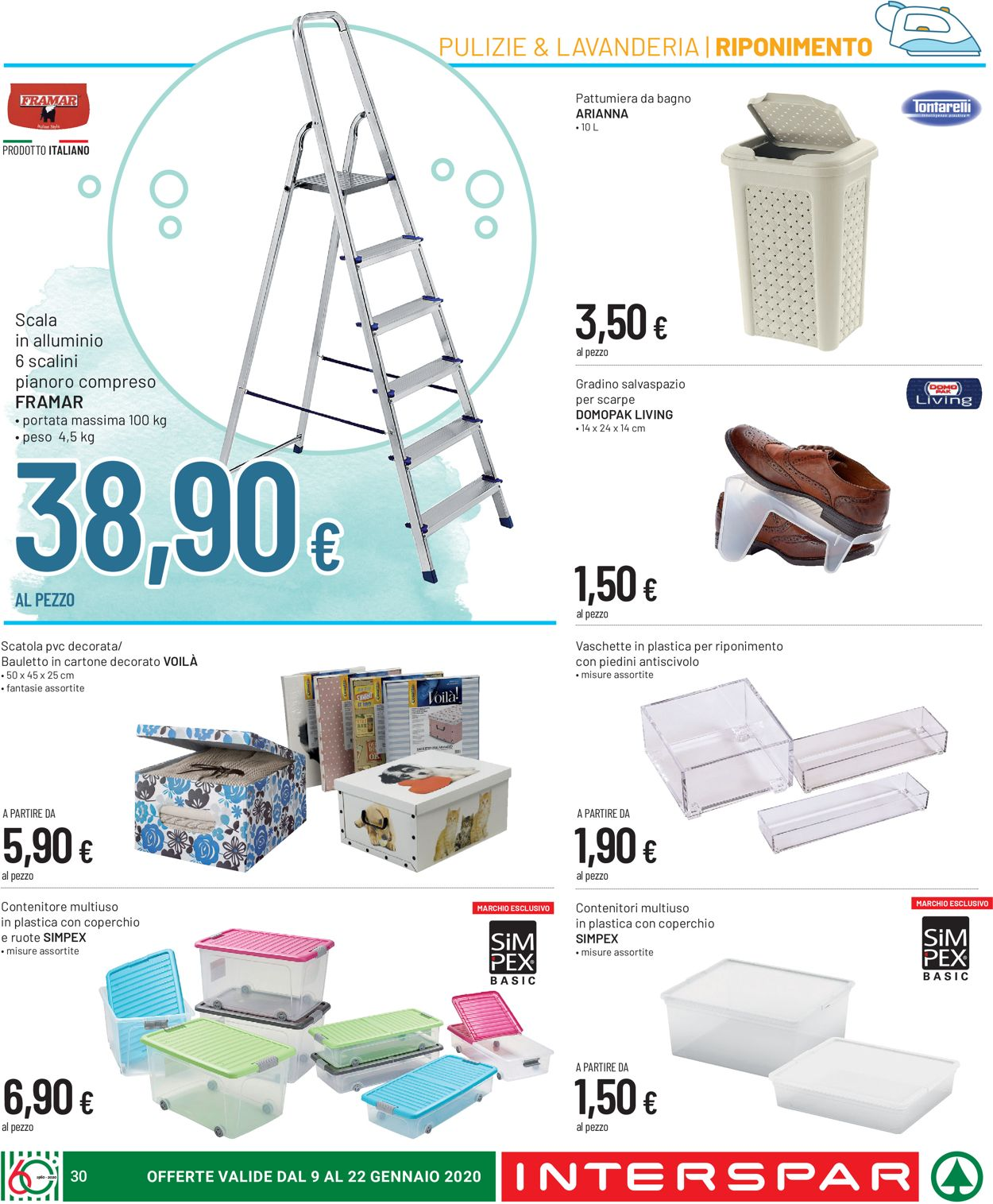 Volantino Interspar - Offerte 09/01-22/01/2020 (Pagina 30)