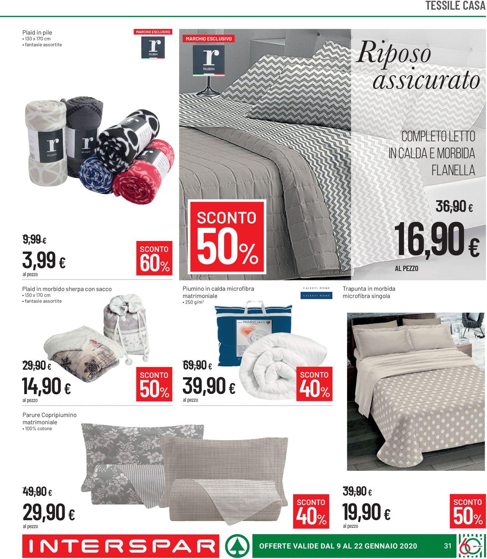 Volantino Interspar - Offerte 09/01-22/01/2020 (Pagina 31)