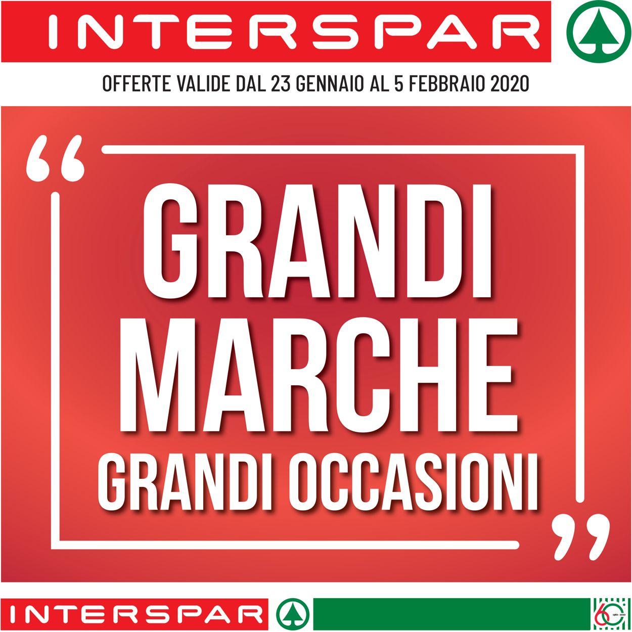 Volantino Interspar - Offerte 23/01-05/02/2020